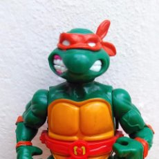 Figuras y Muñecos Tortugas Ninja: FIGURA DE ACCIÓN TORTUGA NINJA TMNT TORTUGAS NINJA 1990 STORAGE SHELL MIKE. Lote 52770955