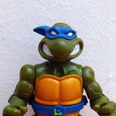 Figuras y Muñecos Tortugas Ninja: FIGURA DE ACCIÓN TORTUGA NINJA TMNT TORTUGAS NINJA 1990 STORAGE SHELL LEONARDO. Lote 52771128