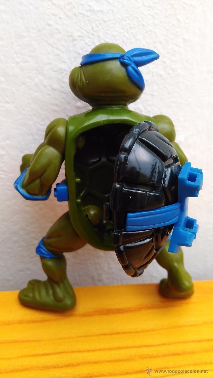 Figuras y Muñecos Tortugas Ninja: figura de acción tortuga ninja tmnt tortugas ninja 1990 storage shell leonardo - Foto 2 - 52771128