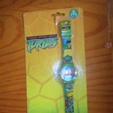 Figuras y Muñecos Tortugas Ninja: RELOJ LCD TORTUGAS NINJA - NUEVO SIN ABRIR. Lote 103366602