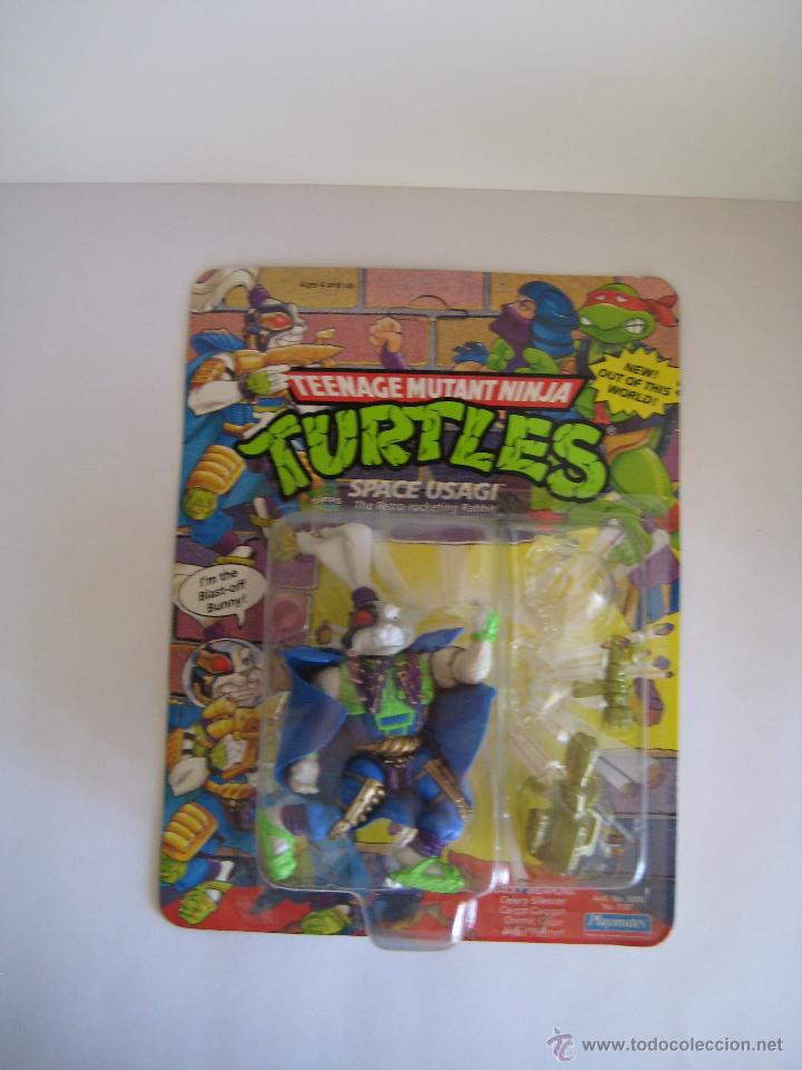 VINTAGE TEENAGE MUTANT NINJA TMNT TORTUGAS NINJA - SPACE USAGI NUEVO NEW (Juguetes - Figuras de Acción - Tortugas Ninja)