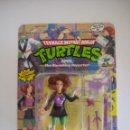 Figuras y Muñecos Tortugas Ninja: VINTAGE TEENAGE MUTANT NINJA TMNT TORTUGAS NINJA - APRIL O'NEAL THE RAVISHING REPORTER NUEVO NEW. Lote 53100854