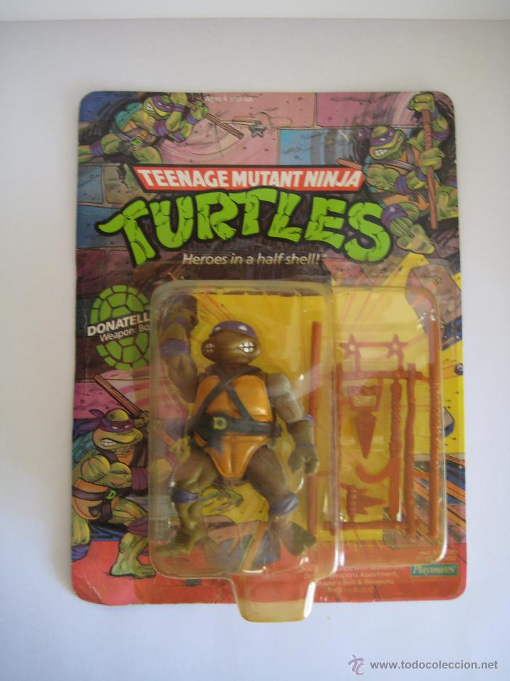 Figuras y Muñecos Tortugas Ninja: Vintage Teenage Mutant Ninja TMNT Tortugas ninja - Donatello Nuevo New - Foto 2 - 53130686