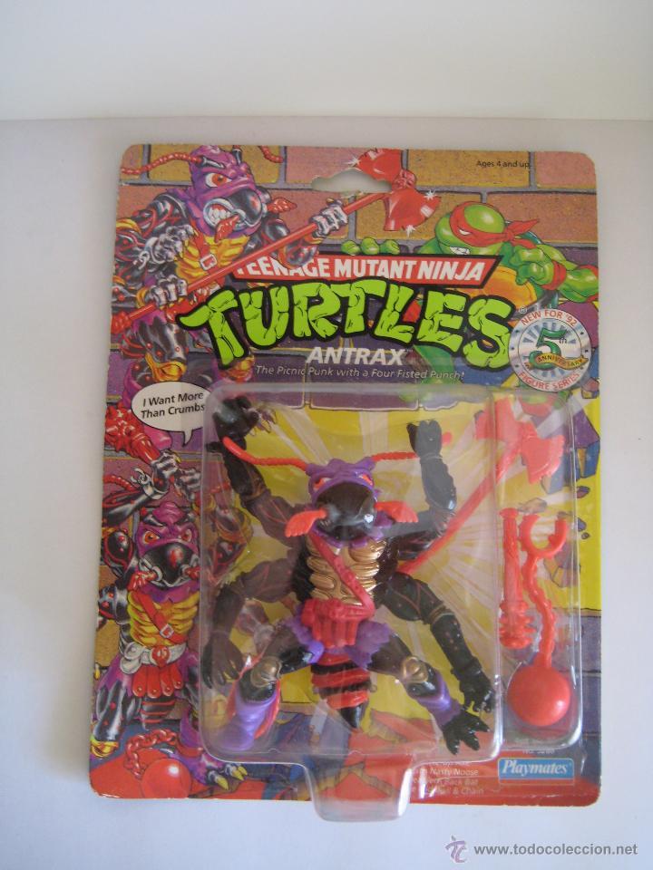 VINTAGE TEENAGE MUTANT NINJA TMNT TORTUGAS NINJA - ANTRAX NUEVO NEW (Juguetes - Figuras de Acción - Tortugas Ninja)