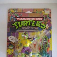 Figuras y Muñecos Tortugas Ninja: VINTAGE TEENAGE MUTANT NINJA TMNT TORTUGAS NINJA - MONDO GECKO NUEVO NEW. Lote 53131869