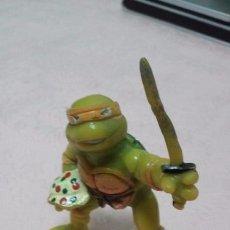 Figuras y Muñecos Tortugas Ninja: TORTUGA NINJA MICHELANGELO AÑO 1988. Lote 53640519