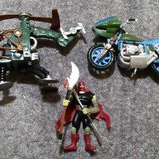 Figuras y Muñecos Tortugas Ninja: FIGURAS VEHÍCULOS TORTUGAS NINJA. Lote 53683693