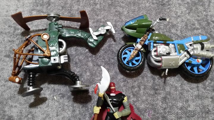 Figuras y Muñecos Tortugas Ninja: FIGURAS VEHÍCULOS TORTUGAS NINJA - Foto 4 - 53683693