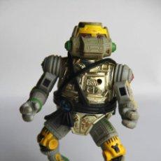 Figuras y Muñecos Tortugas Ninja: FIGURA TORTUGA NINJA TORTUGAS NINJA SERIE ORIGINAL 80'S ROBOT METAL HEAD. Lote 53775420