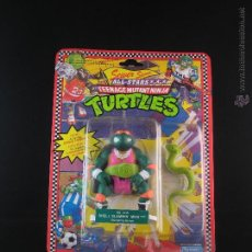 Figuras y Muñecos Tortugas Ninja: VINTAGE TEENAGE MUTANT NINJA TURTLES TMNT TORTUGAS NINJA - SHELL SLAMMIN MIKE NUEVO NEW. Lote 54313410