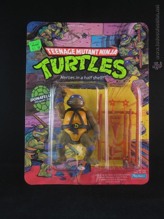 VINTAGE TEENAGE MUTANT NINJA TURTLES TMNT TORTUGAS NINJA - DONATELLO NUEVO NEW (Juguetes - Figuras de Acción - Tortugas Ninja)