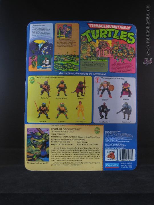 Figuras y Muñecos Tortugas Ninja: Vintage Teenage Mutant Ninja Turtles TMNT Tortugas ninja - Donatello Nuevo New - Foto 3 - 54313780
