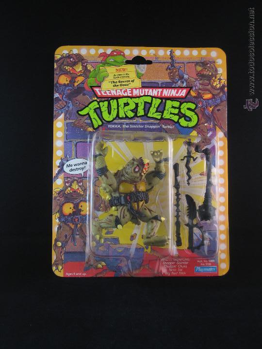 VINTAGE TEENAGE MUTANT NINJA TURTLES TMNT TORTUGAS NINJA - TOKKA NUEVO NEW (Juguetes - Figuras de Acción - Tortugas Ninja)