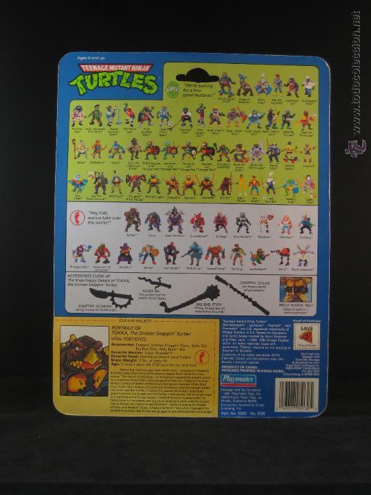 Figuras y Muñecos Tortugas Ninja: Vintage Teenage Mutant Ninja Turtles TMNT Tortugas ninja - Tokka Nuevo New - Foto 3 - 54313987