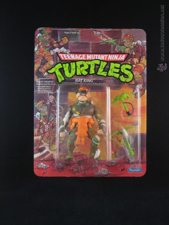 VINTAGE TEENAGE MUTANT NINJA TURTLES TMNT TORTUGAS NINJA - RAT KING NUEVO NEW (Juguetes - Figuras de Acción - Tortugas Ninja)