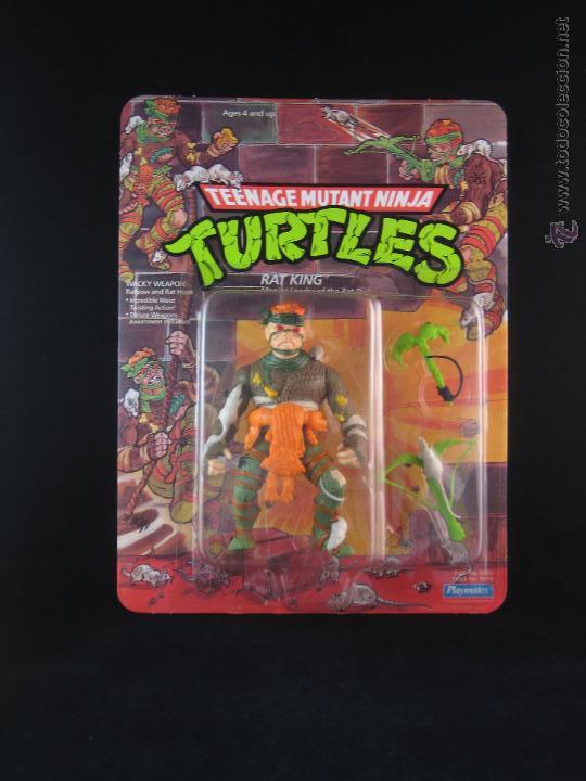 Figuras y Muñecos Tortugas Ninja: Vintage Teenage Mutant Ninja Turtles TMNT Tortugas ninja - Rat King Nuevo New - Foto 2 - 54314142