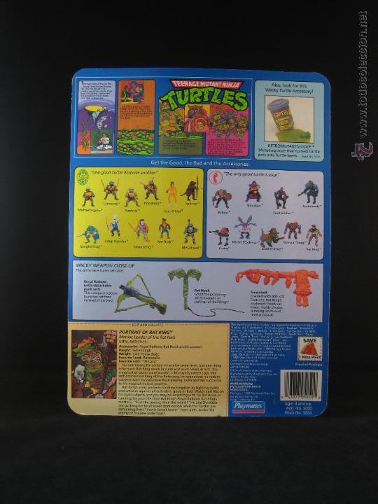 Figuras y Muñecos Tortugas Ninja: Vintage Teenage Mutant Ninja Turtles TMNT Tortugas ninja - Rat King Nuevo New - Foto 3 - 54314142