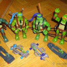 Figuras y Muñecos Tortugas Ninja - Tortugas Ninja, Teener Mutant Ninja Turtles, Película 2007: Leonardo, Rafael, Miquelangelo, Donatelo - 54495257
