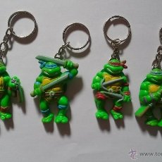 Figuras y Muñecos Tortugas Ninja: NINJA TURTLES LLAVEROS TORTUGAS NINJA 1988 LLAVERO TORTUGA. Lote 95858303