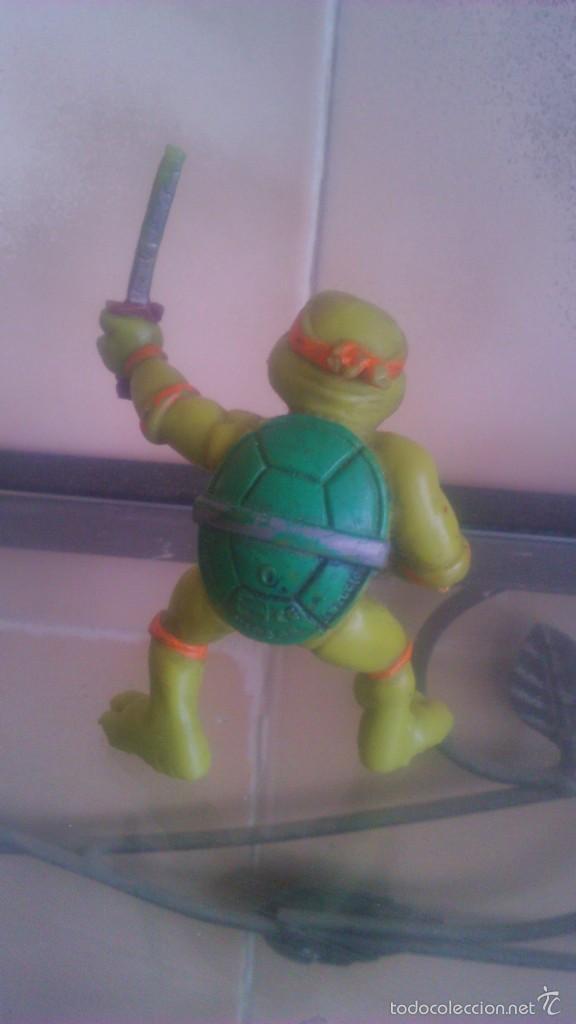 Figuras y Muñecos Tortugas Ninja: TORTUGA NINJA MICHELANGELO mirage estudio.AÑO 1988 - Foto 2 - 56323257