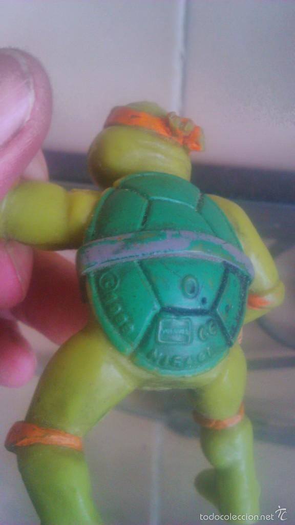 Figuras y Muñecos Tortugas Ninja: TORTUGA NINJA MICHELANGELO mirage estudio.AÑO 1988 - Foto 3 - 56323257