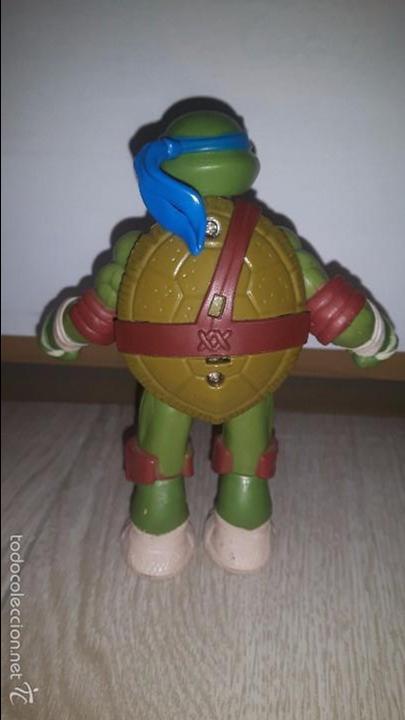 Figuras y Muñecos Tortugas Ninja: LEONARDO- TORTUGA NINJA- TMNT- 2012-VIACOM - Foto 2 - 56855030