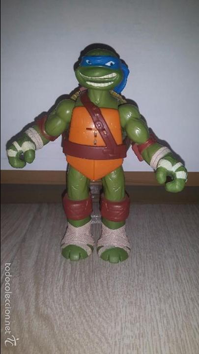 LEONARDO- TORTUGA NINJA- TMNT- 2012-VIACOM (Juguetes - Figuras de Acción - Tortugas Ninja)