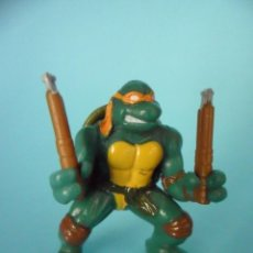 Figuras y Muñecos Tortugas Ninja: TMNT TORTUGAS NINJA KINDER MIRAGE STUDIOS 2005. Lote 56986736