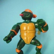 Figuras y Muñecos Tortugas Ninja: TORTUGAS NINJA WACKY ACTION ROCK N ROLL MICHELANGELO MIRAGE STUDIOS 1989. Lote 57116066