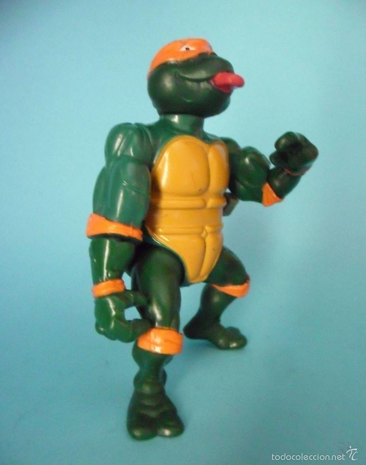 Figuras y Muñecos Tortugas Ninja: TORTUGAS NINJA WACKY ACTION ROCK N ROLL MICHELANGELO MIRAGE STUDIOS 1989 - Foto 2 - 57116066