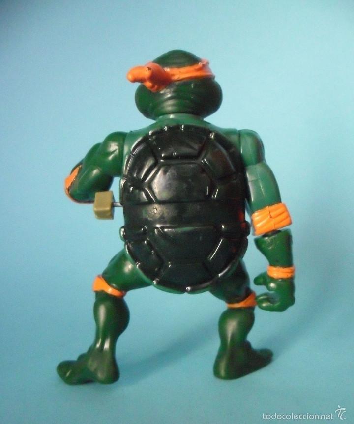Figuras y Muñecos Tortugas Ninja: TORTUGAS NINJA WACKY ACTION ROCK N ROLL MICHELANGELO MIRAGE STUDIOS 1989 - Foto 4 - 57116066