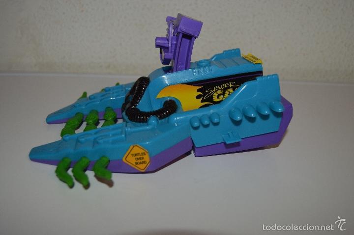 Figuras y Muñecos Tortugas Ninja: TORTUGAS NINJA Footski Playmates toys mirage studios 1989 turtles mutans pfs cg3 - Foto 6 - 57825923