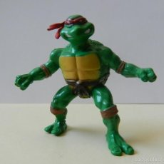 Figuras y Muñecos Tortugas Ninja: FIGURA RAPHAEL RAPH TORTUGA NINJA TORTUGAS MUTANT TURTLES PVC MUÑECO. Lote 58361212