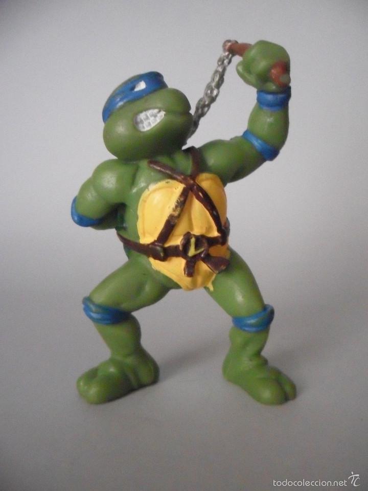 TMNT TORTUGAS NINJA FIGURA DE PVC MIRAGE STUDIOS 1988 (Juguetes - Figuras de Acción - Tortugas Ninja)