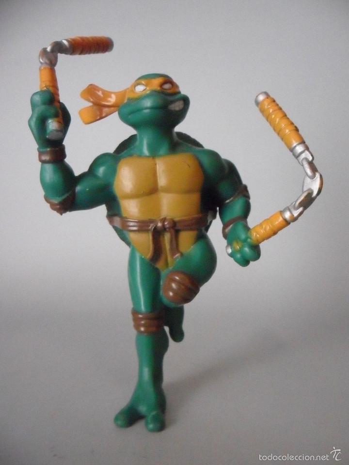 TMNT TORTUGAS NINJA TEENAGE MUTANT NINJA TURTLES FIGURA PVC DE 12 CM MIRAGE STUDIOS 2004 (Juguetes - Figuras de Acción - Tortugas Ninja)