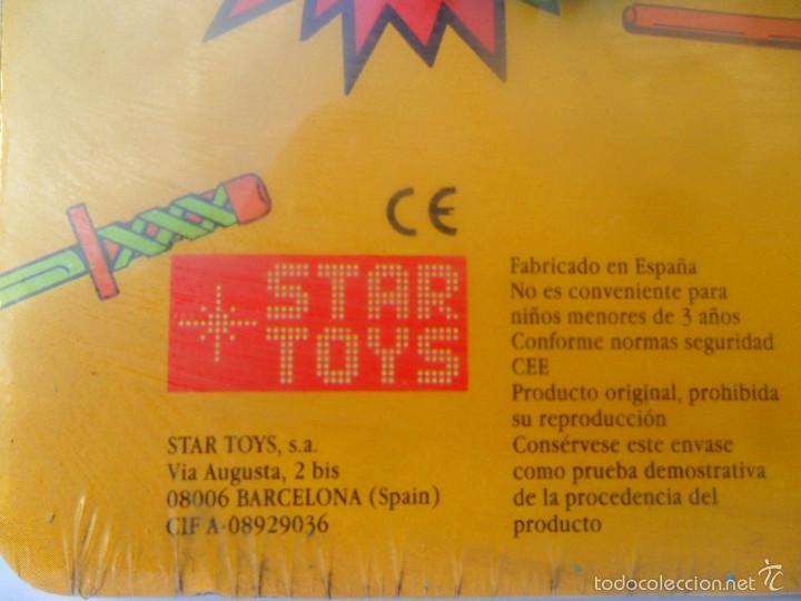 Figuras y Muñecos Tortugas Ninja: TMNT TORTUGAS NINJA EXPOSITOR CON 18 LLAVEROS MIRAGE STUDIOS STAR TOYS 1988 - Foto 3 - 129691719