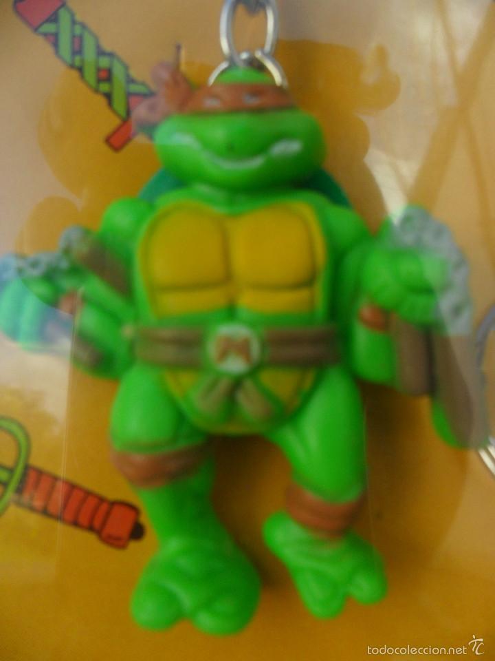 Figuras y Muñecos Tortugas Ninja: TMNT TORTUGAS NINJA EXPOSITOR CON 18 LLAVEROS MIRAGE STUDIOS STAR TOYS 1988 - Foto 5 - 129691719