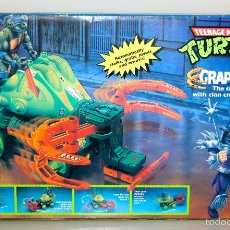 Figuras y Muñecos Tortugas Ninja: VINTAGE TEENAGE MUTANT NINJA TURTLES TORTUES GRAPPLOR - PLAYMATES IDEAL 1988 NEW. Lote 61316899