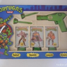 Figuras y Muñecos Tortugas Ninja: TORTUGAS NINJA TMNT PISTOLA DIANA JOSMAN ESPAÑA 1990. Lote 62437548