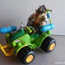 Figuras y Muñecos Tortugas Ninja: TORTUGAS NINJA DE BANDAI. VEHÍCULO DE ATAQUE CON FIGURA.. Lote 65727642