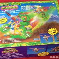 Figures and Dolls Ninja Turtles - Moto-Mutante Tortugas Ninja BANDAI 1989 - 158455152