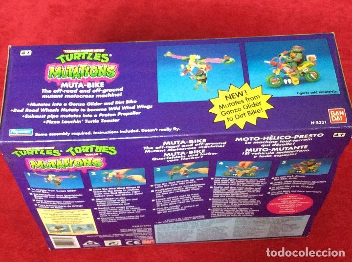 Figuras y Muñecos Tortugas Ninja: Moto-Mutante Tortugas Ninja BANDAI 1989 - Foto 2 - 158455152
