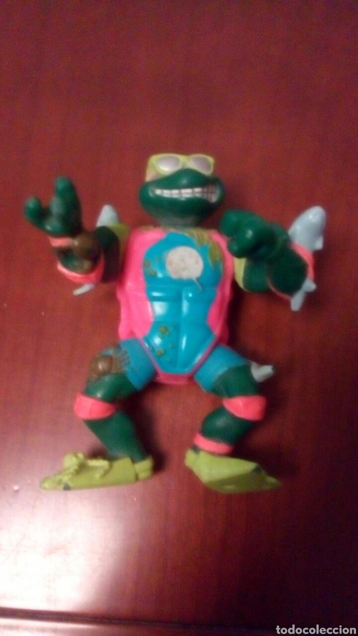 MUÑECO TORTUGA NINJA, PLAYMATES TOYS AÑO 1990. (Juguetes - Figuras de Acción - Tortugas Ninja)