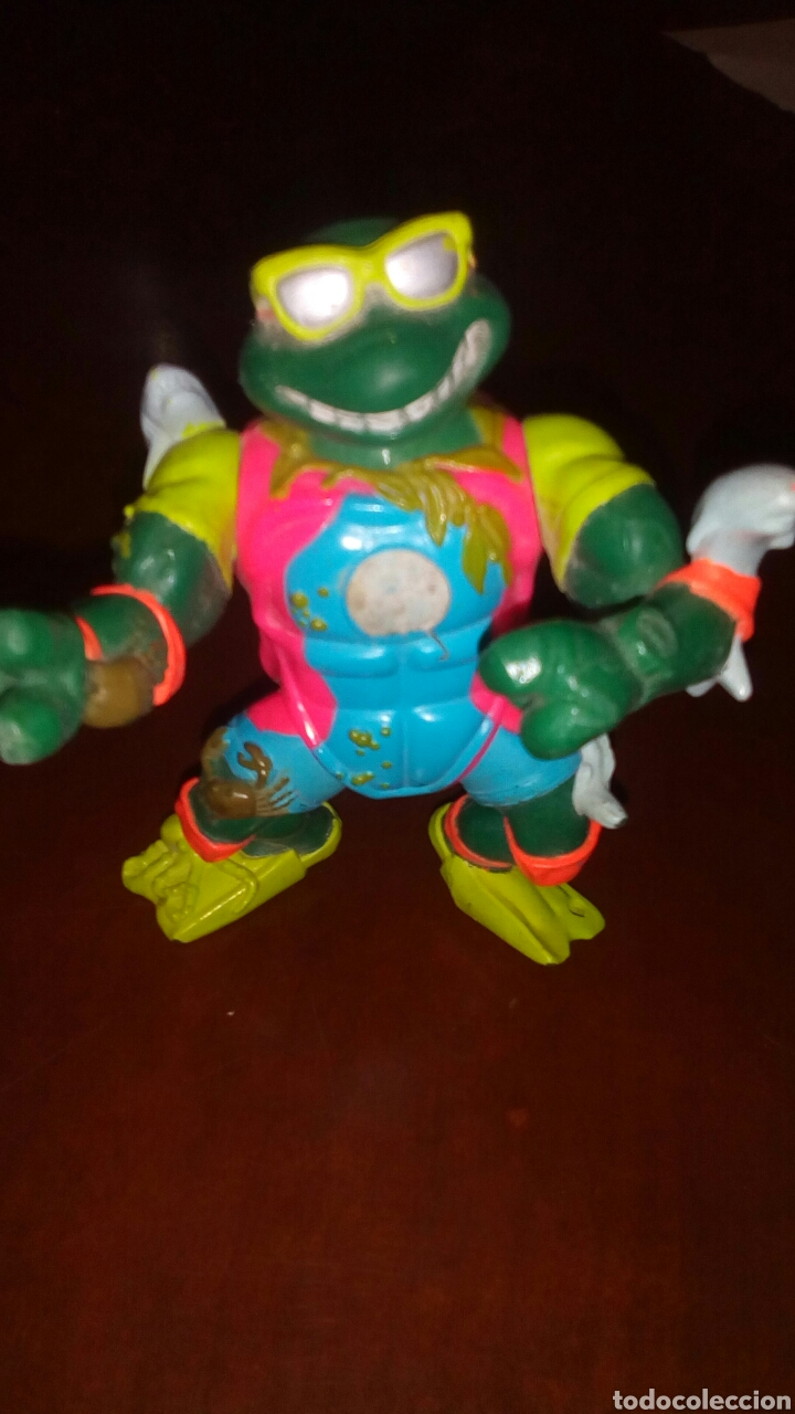 Figuras y Muñecos Tortugas Ninja: Muñeco tortuga ninja, playmates toys año 1990. - Foto 2 - 67676765