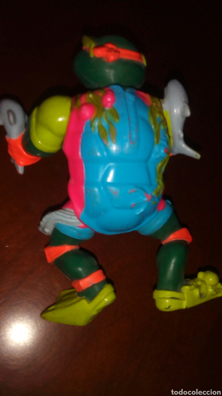Figuras y Muñecos Tortugas Ninja: Muñeco tortuga ninja, playmates toys año 1990. - Foto 3 - 67676765