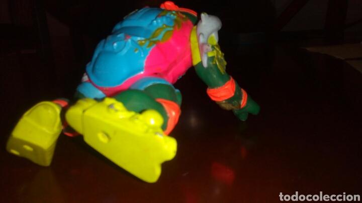 Figuras y Muñecos Tortugas Ninja: Muñeco tortuga ninja, playmates toys año 1990. - Foto 4 - 67676765