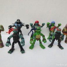 Figuras y Muñecos Tortugas Ninja: 8 FIGURAS DE PVC DE TROTUGAS NINJA. Lote 68905301
