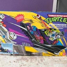 Figuras y Muñecos Tortugas Ninja: FOOTCRUISER - COCHAZO DE SHREDDER, TORTUGAS NINJA - EN CAJA ORIGINAL - VER FOTOS. Lote 68975581