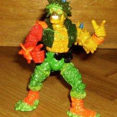 Figuras y Muñecos Tortugas Ninja: TOXIC CRUSADER, VENGADOR TÓXICO, TROMS, PLAYMATES TOYS, 1991, ¡DIFÍCIL, RARO! TAMAÑO TORTUGAS NINJA. Lote 69068369