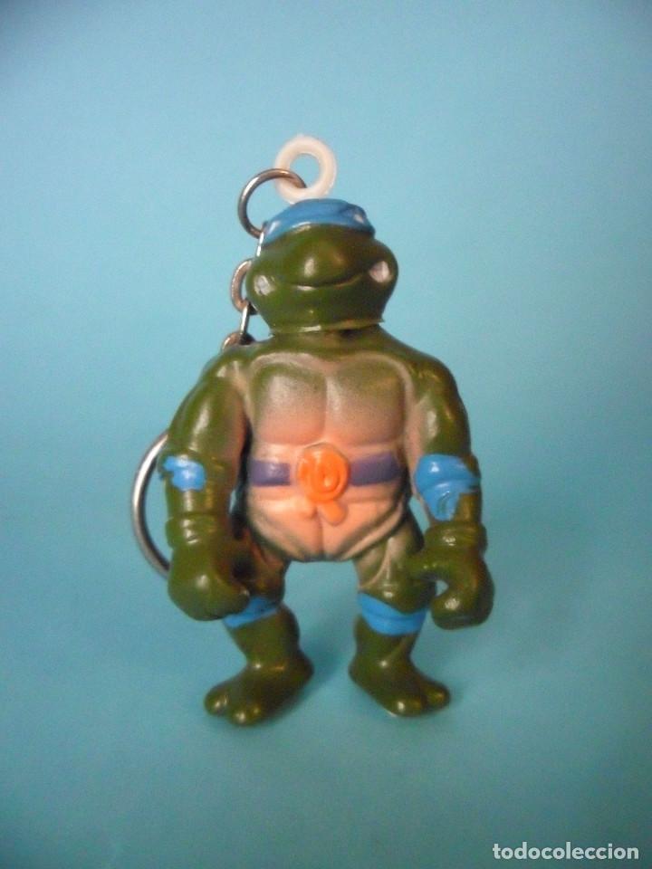 TMNT TORTUGAS NINJA RARA FIGURA LLAVERO BOOTLEG DE 5 CM (Juguetes - Figuras de Acción - Tortugas Ninja)